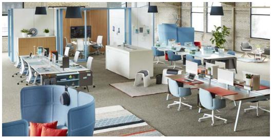 utilizing office space