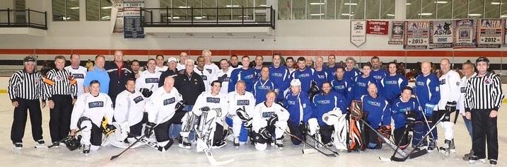 charity hockey event
