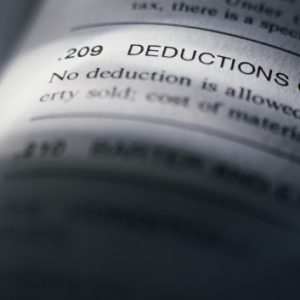 commercial real estate tax deduction restrictions.