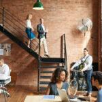 Open Floor Office Design